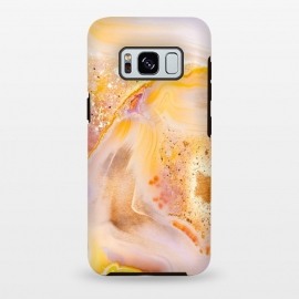 Galaxy S8 plus  Rose Gold Agate by