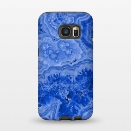 Galaxy S7  Blue Agate by Utart