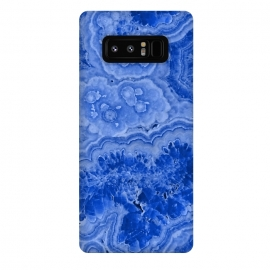 Galaxy Note 8  Blue Agate by Utart