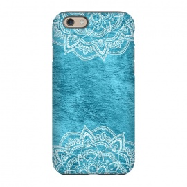 iPhone 6/6s  Blue and White Mandala by Utart