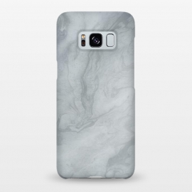 Galaxy S8+  Gray Marble by Andrea Haase