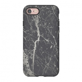 iPhone 8/7  Elegant Silver Marble by Andrea Haase