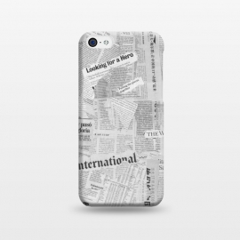 iPhone 5C  Newspaper Collage by Andrea Haase
