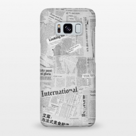 Galaxy S8+  Newspaper Collage by Andrea Haase