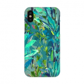 iPhone X  Greenplant by Susanna Nousiainen