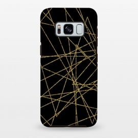 Galaxy S8 plus  Golden Lines by