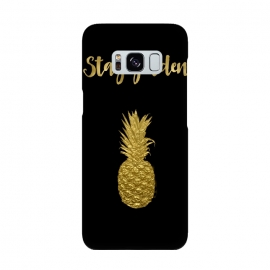 Stay Golden Precious Tropical Pineapple by Andrea Haase