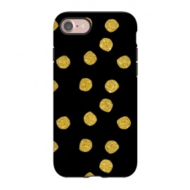 iPhone 8/7  Golden Glamour Dots by Andrea Haase