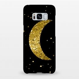 Galaxy S8+  Sparkling Golden Moon by Andrea Haase