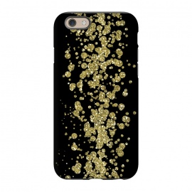 iPhone 6/6s  Glamorous Golden Glitter by Andrea Haase