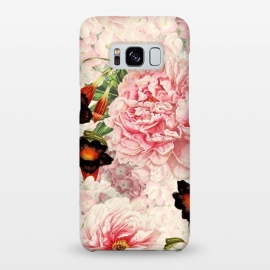Galaxy S8+  Vintage Peony Pattern by Utart
