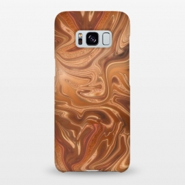 Galaxy S8+  Shimmering Copper Glamorous Luxury by Andrea Haase
