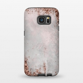 Galaxy S7  Copper Glamour by Andrea Haase (copper, rose gold, glitter, faux, sparkle, metal, foil, glamour, precious, shiny, shimmering, extravagant, fancy, luxury, expensive, fashionable, feminine, gift, rich, elegant, brown)