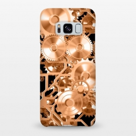 Galaxy S8+  Copper Steampunk by Andrea Haase