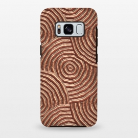 Galaxy S8+  Copper Circular Engravings by Andrea Haase