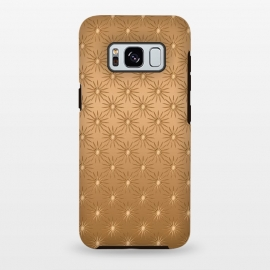 Galaxy S8 plus  Copper Star Pattern by