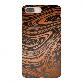 Copper Black Faux Marble by Andrea Haase