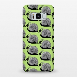 Galaxy S8+  Cartoon Snail With Spiral Eyes Pattern by Boriana Giormova