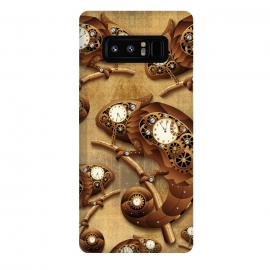 Galaxy Note 8  Steampunk Chameleon Vintage Style by BluedarkArt