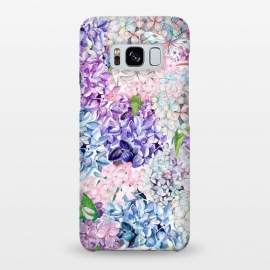 Galaxy S8+  Purple Vintage Lilacs  by Utart