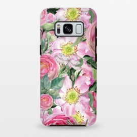 Galaxy S8+  Vintage Dog Roses by Utart