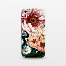 iPhone 5/5E/5s  Vintage Peony and Little Bell by Utart