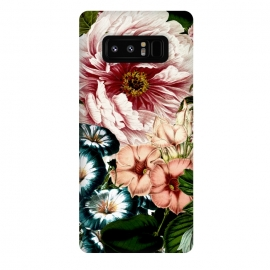 Galaxy Note 8  Vintage Peony and Little Bell by Utart