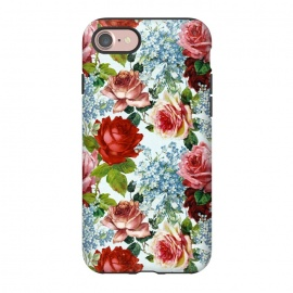 iPhone 8/7  Vintage roses and Forget Me Not by Utart