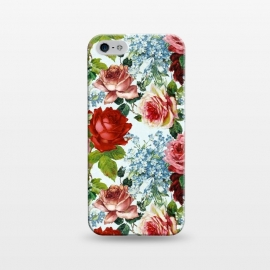 iPhone 5/5E/5s  Vintage roses and Forget Me Not by Utart