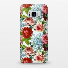 Galaxy S8+  Vintage roses and Forget Me Not by Utart