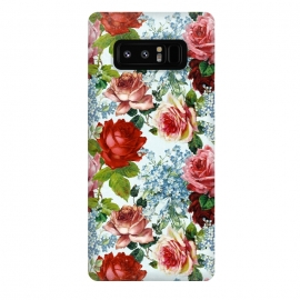 Galaxy Note 8  Vintage roses and Forget Me Not by Utart