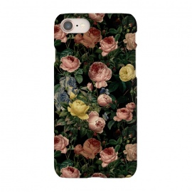 iPhone 8/7  Night Vintage Roses by Utart