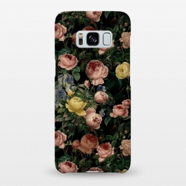 Galaxy S8+  Night Vintage Roses by Utart