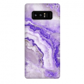 Galaxy Note 8  Ultra Violet Veined Marble by Utart