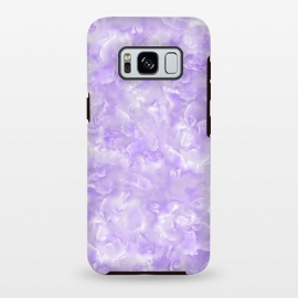 Galaxy S8 plus  Purple Mother of Shell Pattern by