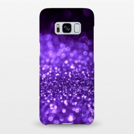 Galaxy S8+  Ultra Violet Faux Glitter by Utart