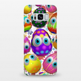 Galaxy S8+  Cute Easter Eggs Cartoon 3d Pattern by BluedarkArt