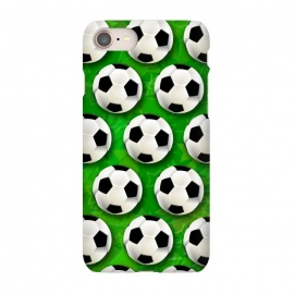 iPhone 8/7  Soccer Ball Football Pattern by BluedarkArt