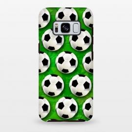 Galaxy S8 plus  Soccer Ball Football Pattern by