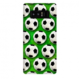 Galaxy Note 8  Soccer Ball Football Pattern by