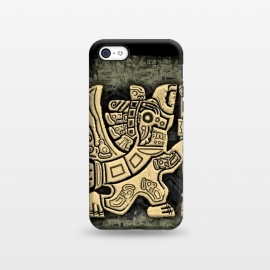 iPhone 5C  Aztec Eagle Warrior by BluedarkArt