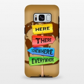 Galaxy S8 plus  Directions Panels Wanderlust by