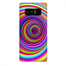Galaxy Note 8  Hypnotic Psychedelic Vertigo Hole by