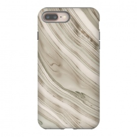 Greige Faux Marble Elegance by Andrea Haase