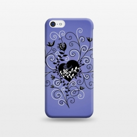 iPhone 5C  Dark Gothic Mended Broken Heart by Boriana Giormova
