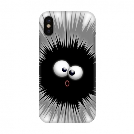 iPhone X  Funny Dazzled Ink Splat Cartoon  by