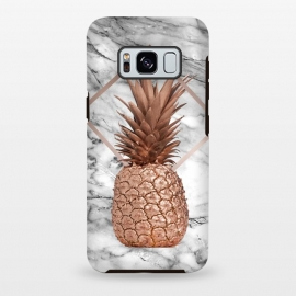 Copper Pineapple Abstract Shape and Marble  by Utart