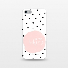 iPhone 5/5E/5s  La Vie Bohme On Polka Dots by Utart