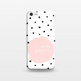 iPhone 5C  La Vie Bohme On Polka Dots by Utart