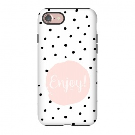 iPhone 8/7  Enjoy on polka dots by Utart